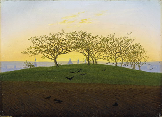 2-Hill_and_Ploughed_Field_near_Dresden_by_Caspar_David_Friedrich