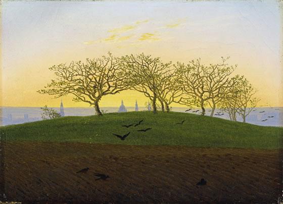 2-Hill_and_Ploughed_Field_near_Dresden_by_Caspar_David_Friedrich