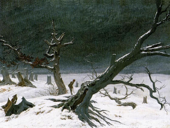 2-Winter_Landscape_by_Caspar_David_Friedrich