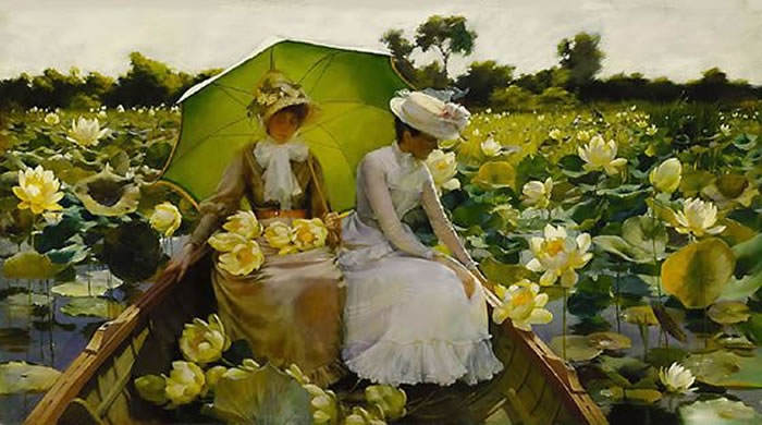 Charles Courtney Curran Lotus