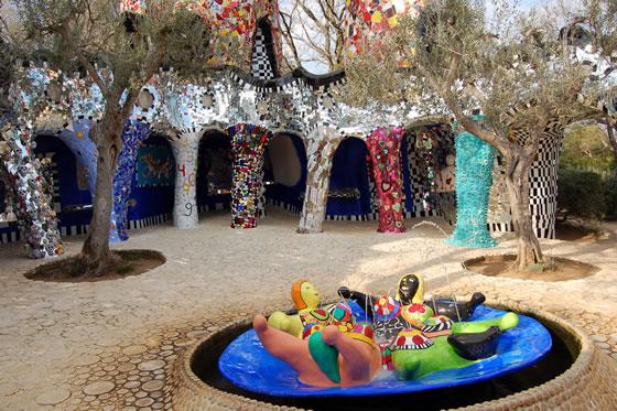 El Jardín del tarot, Niki de Saint Phalle