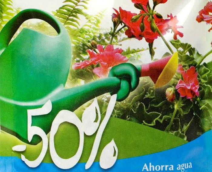 abono para ahorrar agua