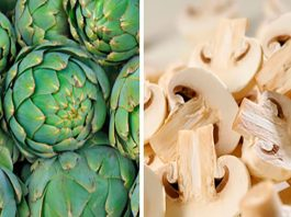 Alcachofas con champiñones 1