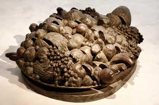 Bodegón en bronce de Rafael Muyor