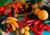 Bodegon frutas y verduras