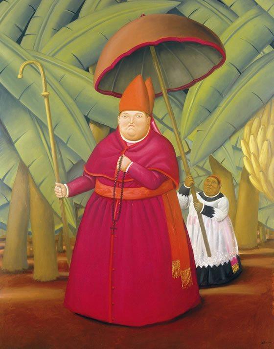 El Nuncio de Fernando Botero
