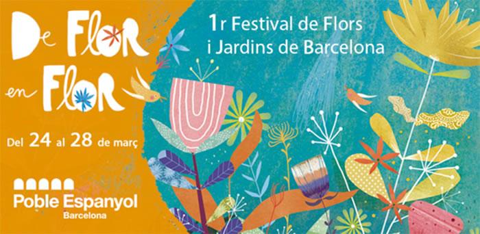 Cartel del Festival De flor en Flor