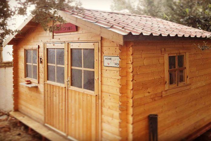 Como hacer una caseta de jardin dise os arquitect nicos - Hacer caseta de madera ...