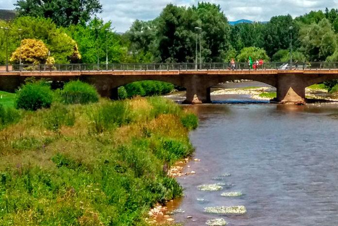 Cauce de un río