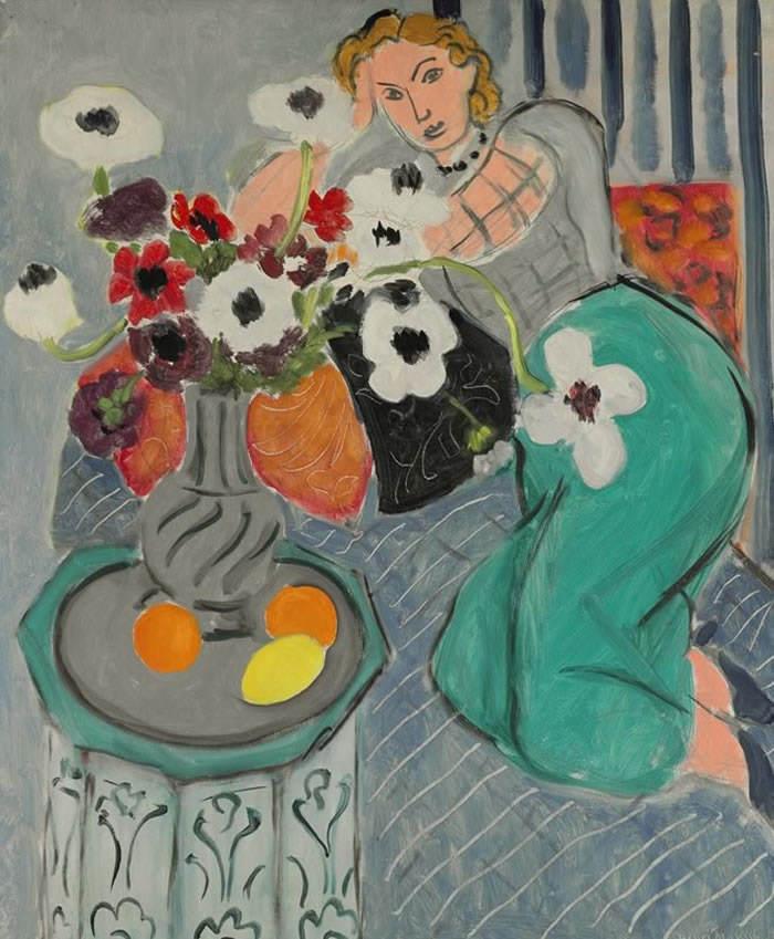 "Henri Matisse- ""L'Odalisque, harmonie bleue"", 1937"