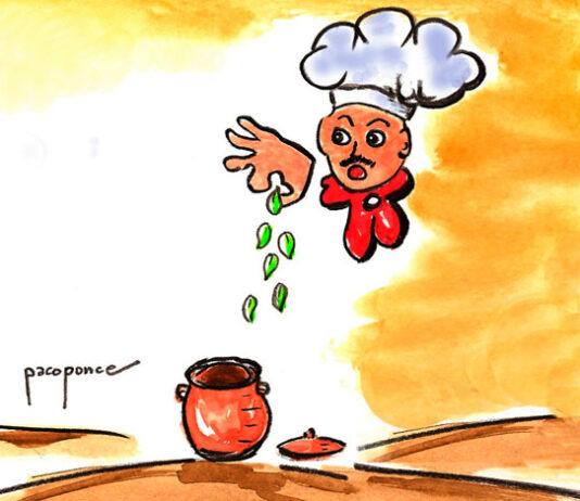 Dibujo de plantas culinarias
