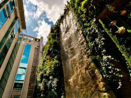 El Jardín vertical más grande