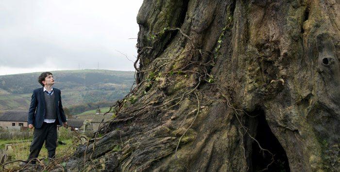 El árbol de un monstruo viene a verme es un Tejo
