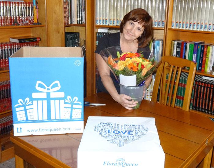 Envío de flores a domicilio