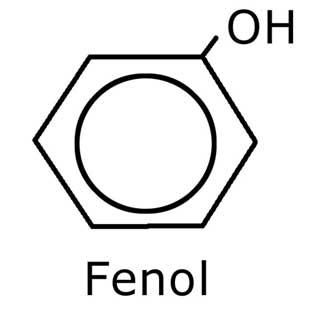 Estructura química del fenol