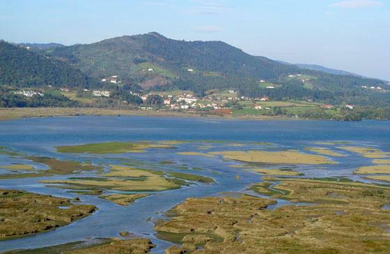Marismas, arenales y zonas costeras del Urdaibai