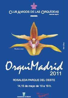 Exposición de orquideas en Madrid