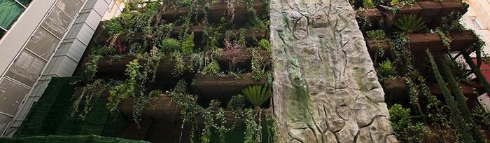 El Jardín vertical más grande de España