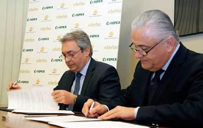 firma acuerdo iberflora fepex