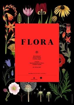 Cartel de la primera edición de Flora 2017