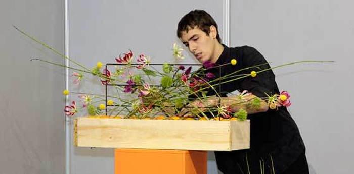 floristas en iberflora 2012