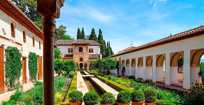 Jardines Generalife Granada