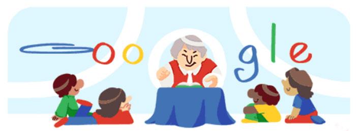 Doodle a Gloria Fuertes de Google