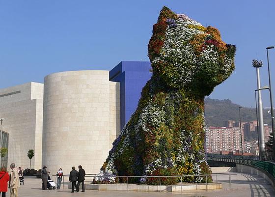 Puppy en el Guggenheim
