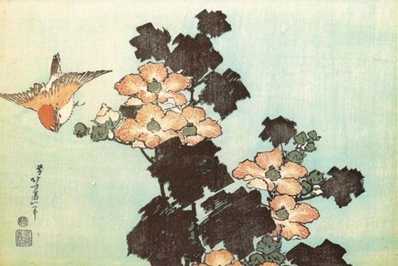 hokusai-katsushika-flores