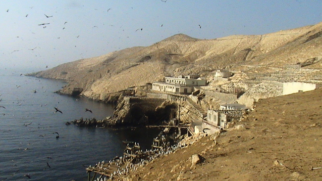 Guañape Norte, Isla singular situada frente a la costa de Perú