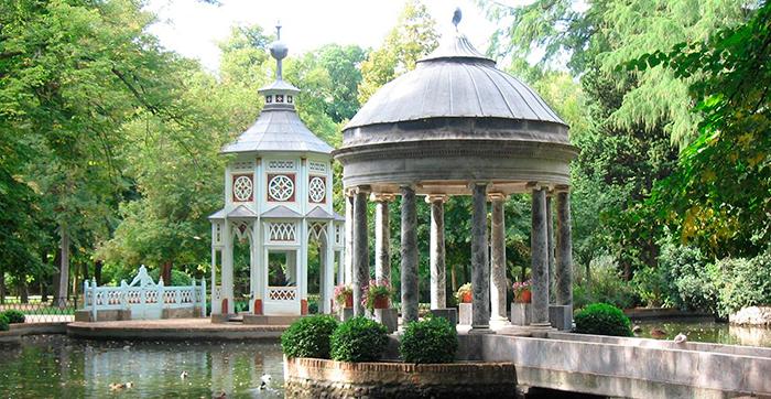 Jardin Aranjuez Madrid