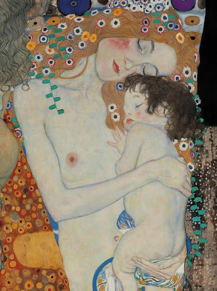Tres edades de la vida de Klimt