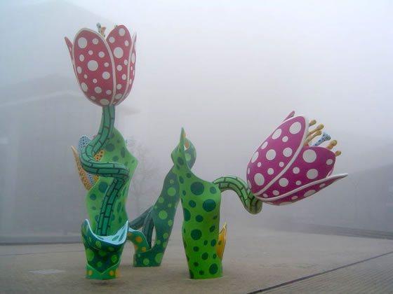 kusama_tulips