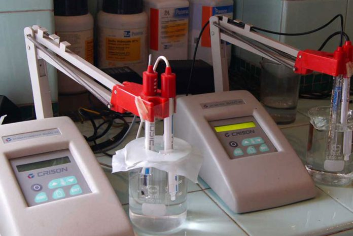 Laboratorio agrícola para fertilizantes