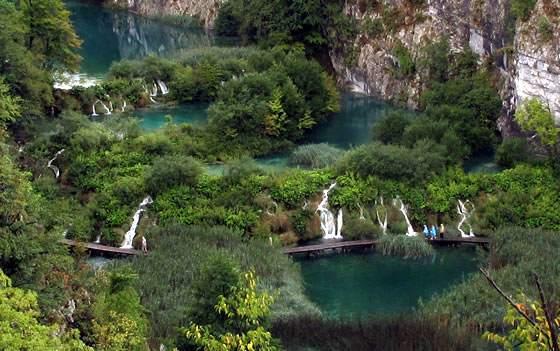 Recorriendo los lagos de Plitvice