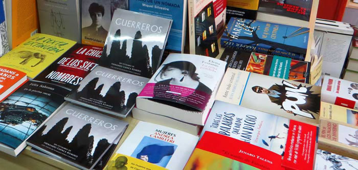 FotoLibro Guerreros enla Librería Primado en Valencia