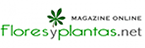 Logotipo de la revista Flores y Plantas