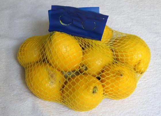 Malla de limones