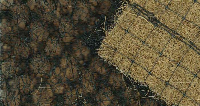 Nuevas mantas orgánicas reforzadas para el control de la erosión