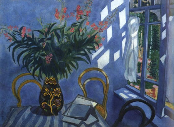 marc-chagall-interior-with-flowers