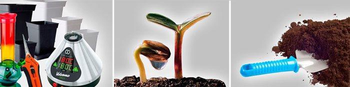 Materiales para cultivar cannabis