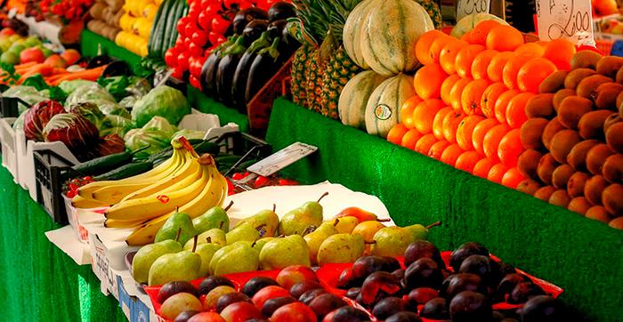 Mercado de frutas y verduras 2021