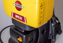 Mochila pulverizadora eléctrica BPE18 de HARDI