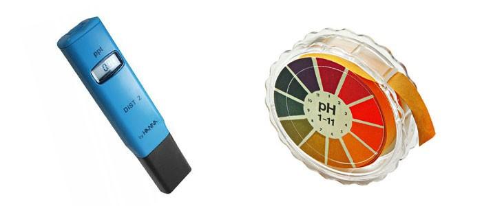 Papel tornasol para medir el pH