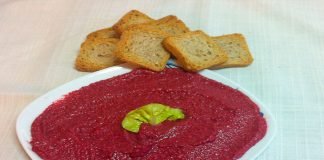 Pate de remolacha al curry