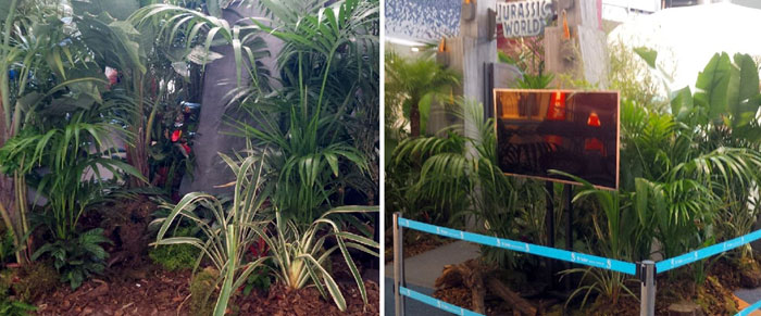 Plantas del Jurassic World Experience