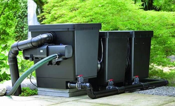 proficlear premium filtro de-tambor-de gravitacion para estanques fyp