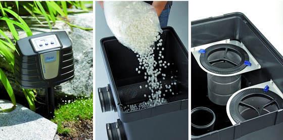 Filtro para grandes estanques for Filtro natural para estanque