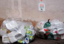 Recogida de envases agrícolas usados