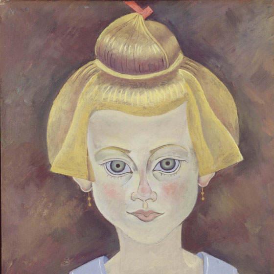 Retrato de niña de Joan Miró